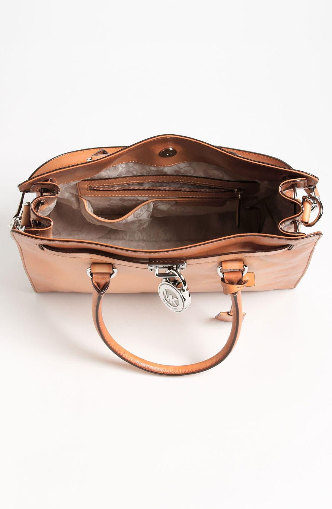 Alternate Image 3  - MICHAEL Michael Kors 'Hamilton Artisan - Large' Leather Tote