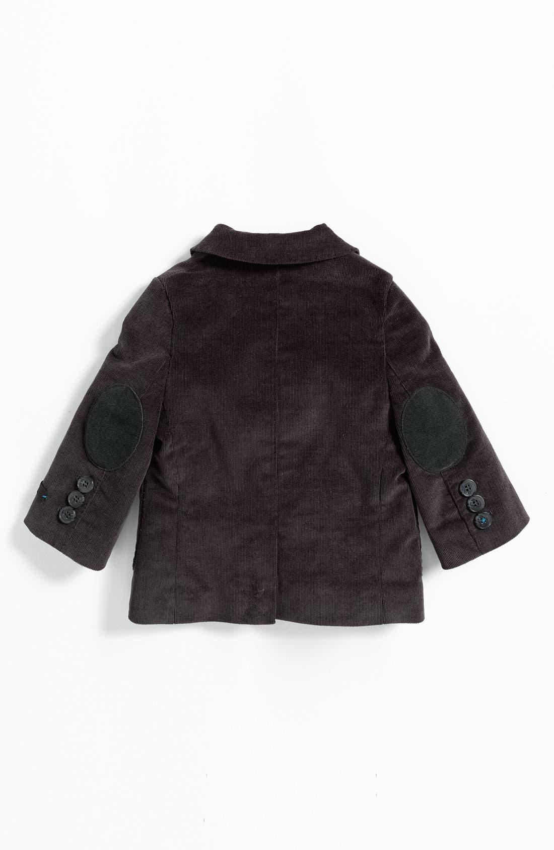 Alternate Image 2  - BOSS Kidswear Velvet Jacket (Infant)
