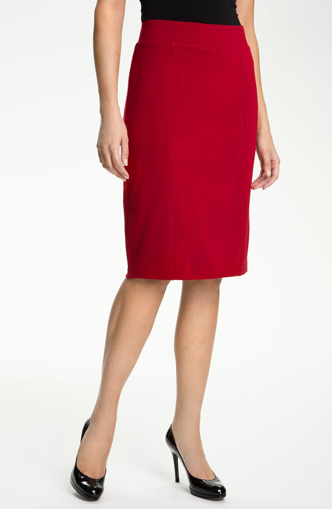 Alternate Image 1 Selected - NYDJ 'Prudence' Ponte Skirt