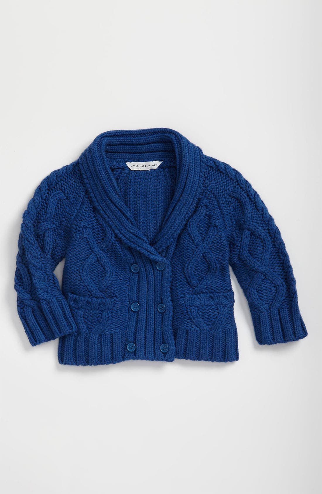 Alternate Image 1 Selected - LITTLE MARC JACOBS Knit Cardigan (Infant)