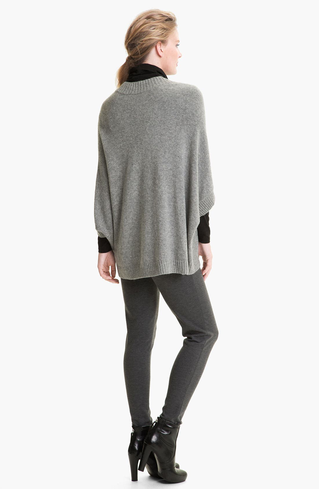 Alternate Image 5  - Lafayette 148 New York Wool Blend Poncho Pullover