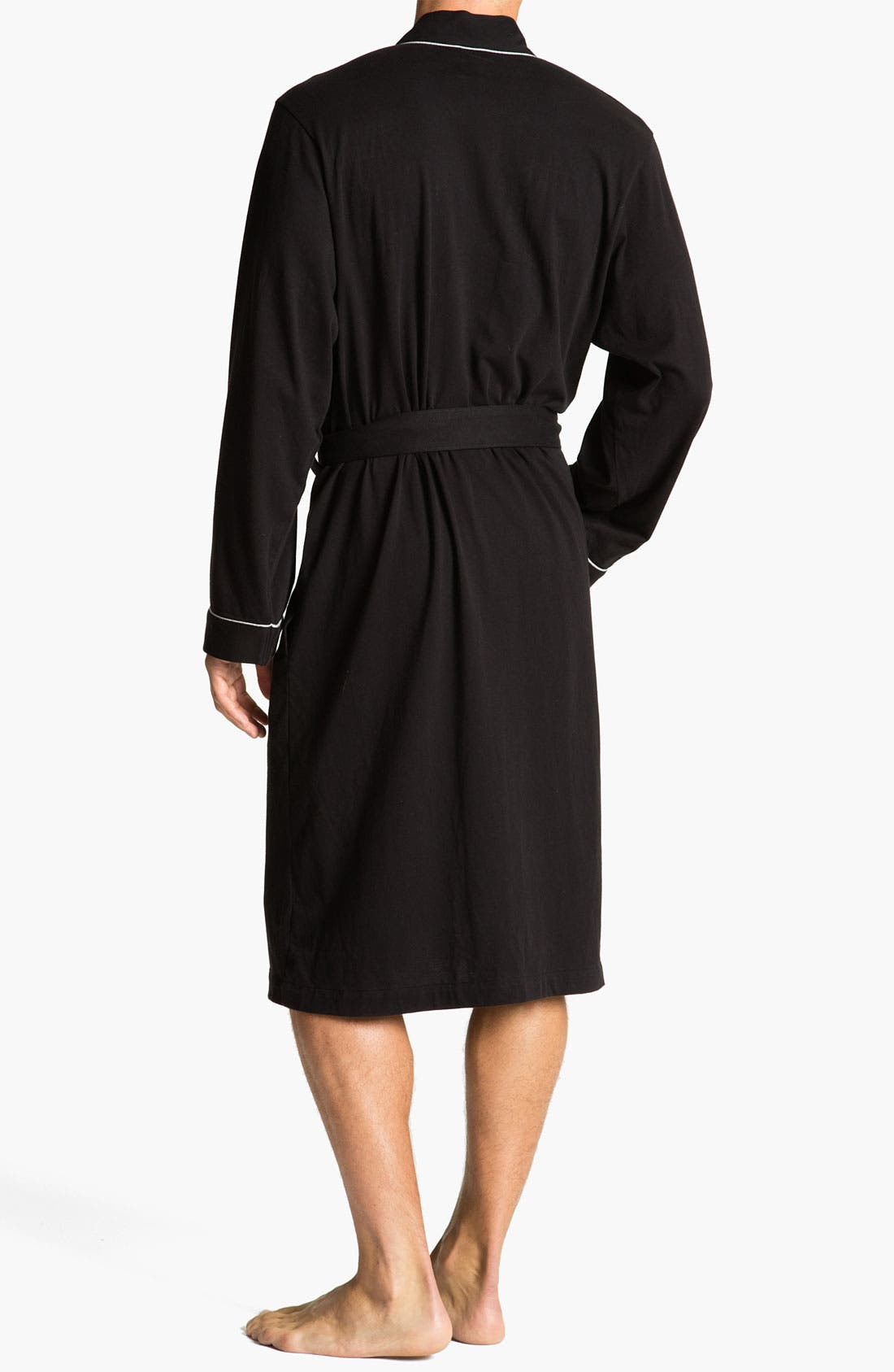 Alternate Image 2  - BOSS Black Cotton Robe