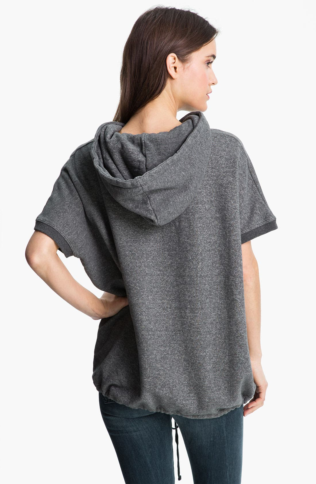 Alternate Image 2  - James Perse Hooded Poncho Pullover