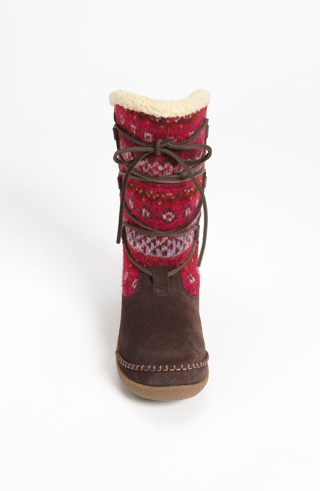 Alternate Image 3  - Acorn 'Crosslander Boot' Slipper