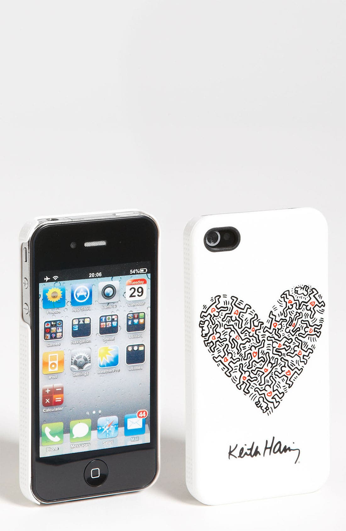 Alternate Image 1 Selected - Case Scenario 'Hearts' iPhone 4 & 4S Case
