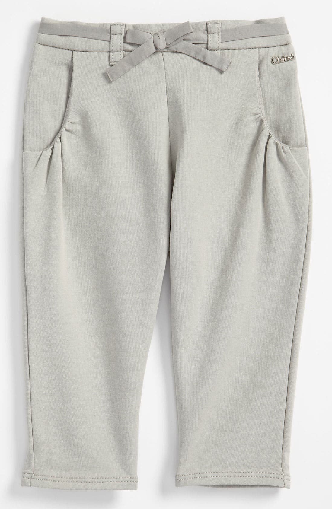 Alternate Image 1 Selected - Chloé Straight Leg Pants (Infant)