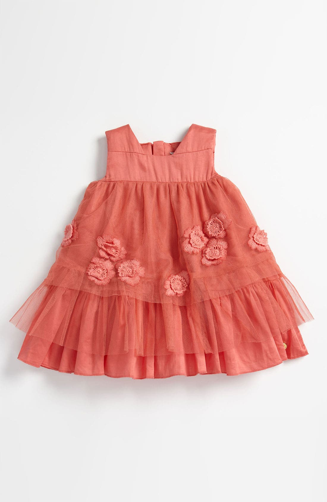 Main Image - LITTLE MARC JACOBS Tulle Dress (Infant)
