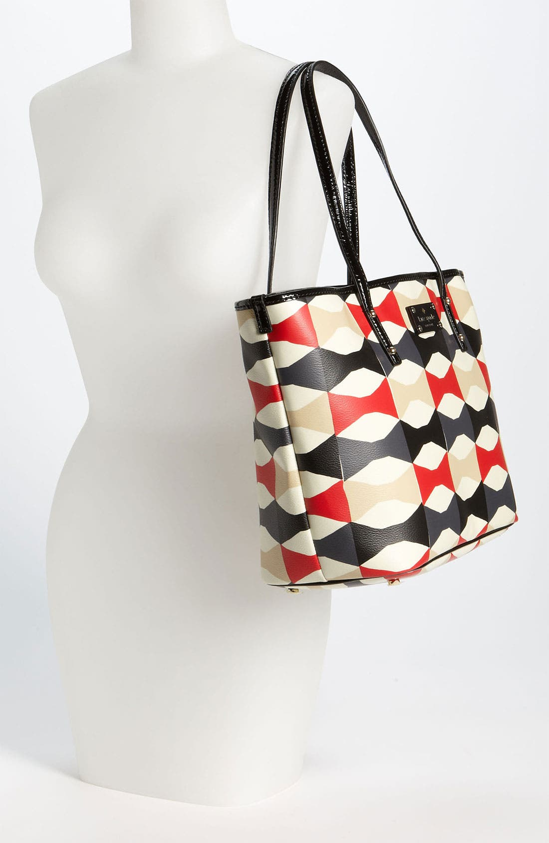 Alternate Image 2  - kate spade new york 'abstract signature bow harmony - small' tote