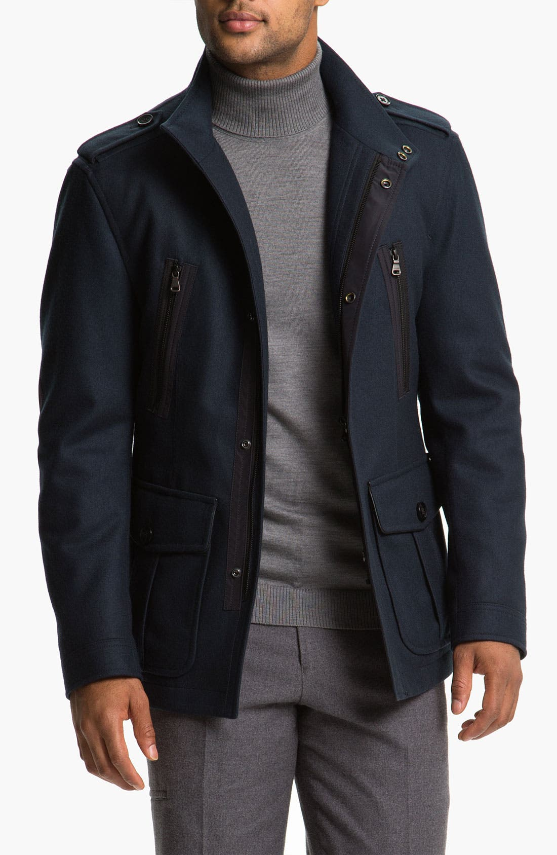 Alternate Image 1 Selected - BOSS Black 'Ciffom' Wool Jacket