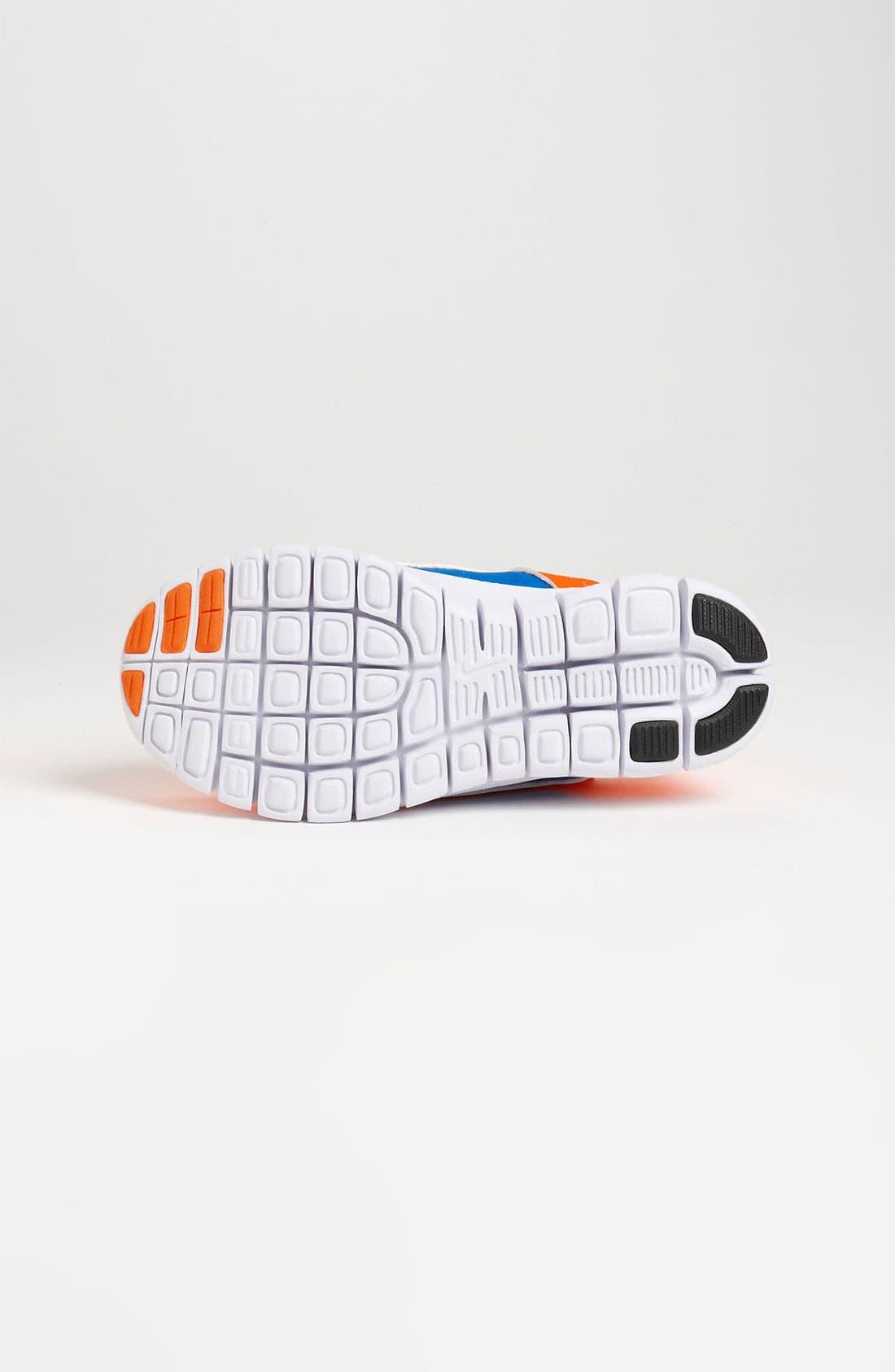 Alternate Image 4  - Nike 'Free Run 3' Sneaker (Baby, Walker, Toddler & Little Kid)
