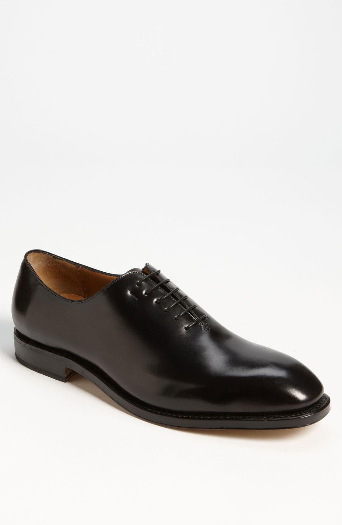 Alternate Image 1 Selected - Salvatore Ferragamo 'Carmelo' Plain Toe Oxford