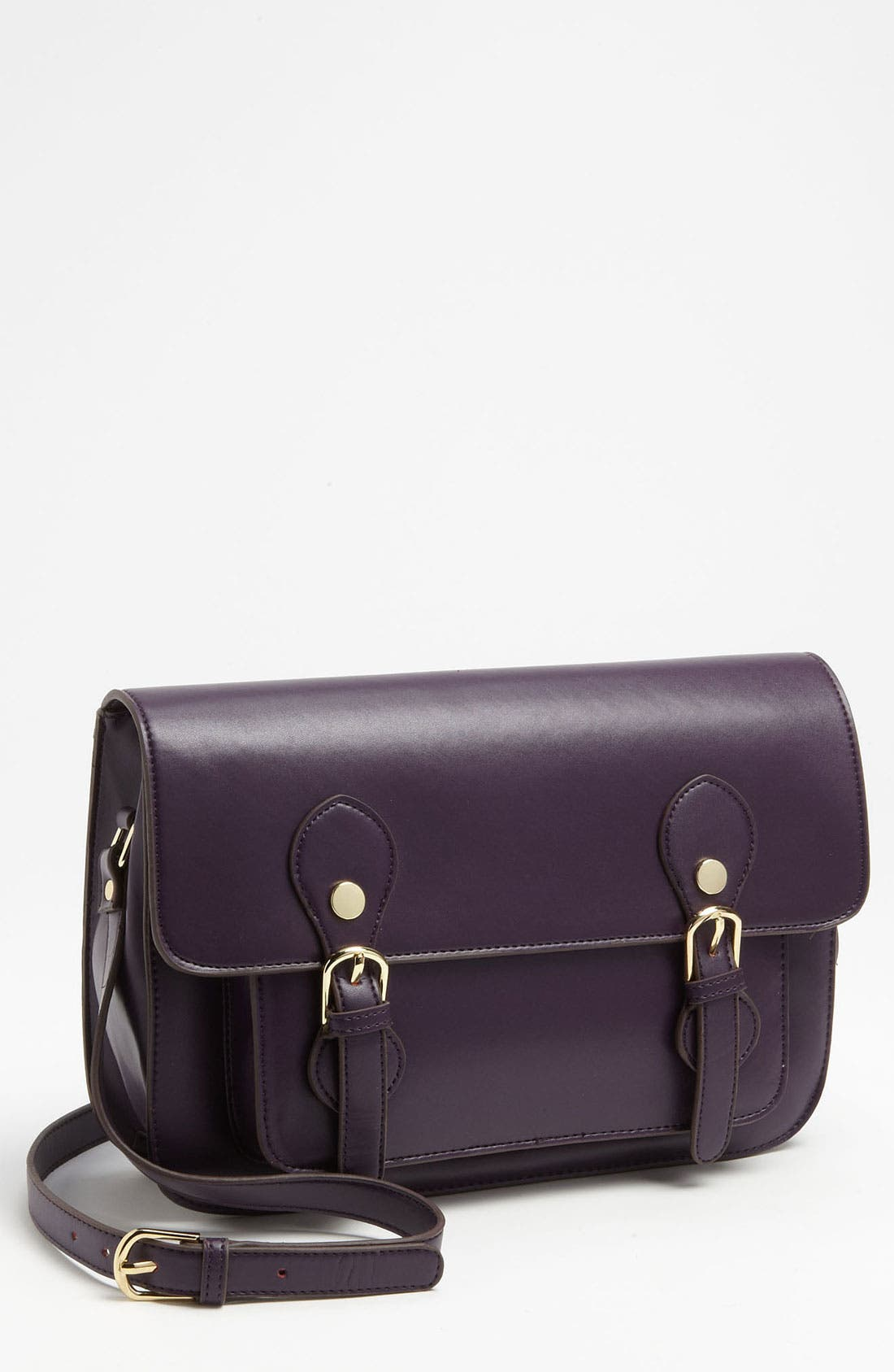 'Large' Crossbody Bag,                         Main,                         color, Purple