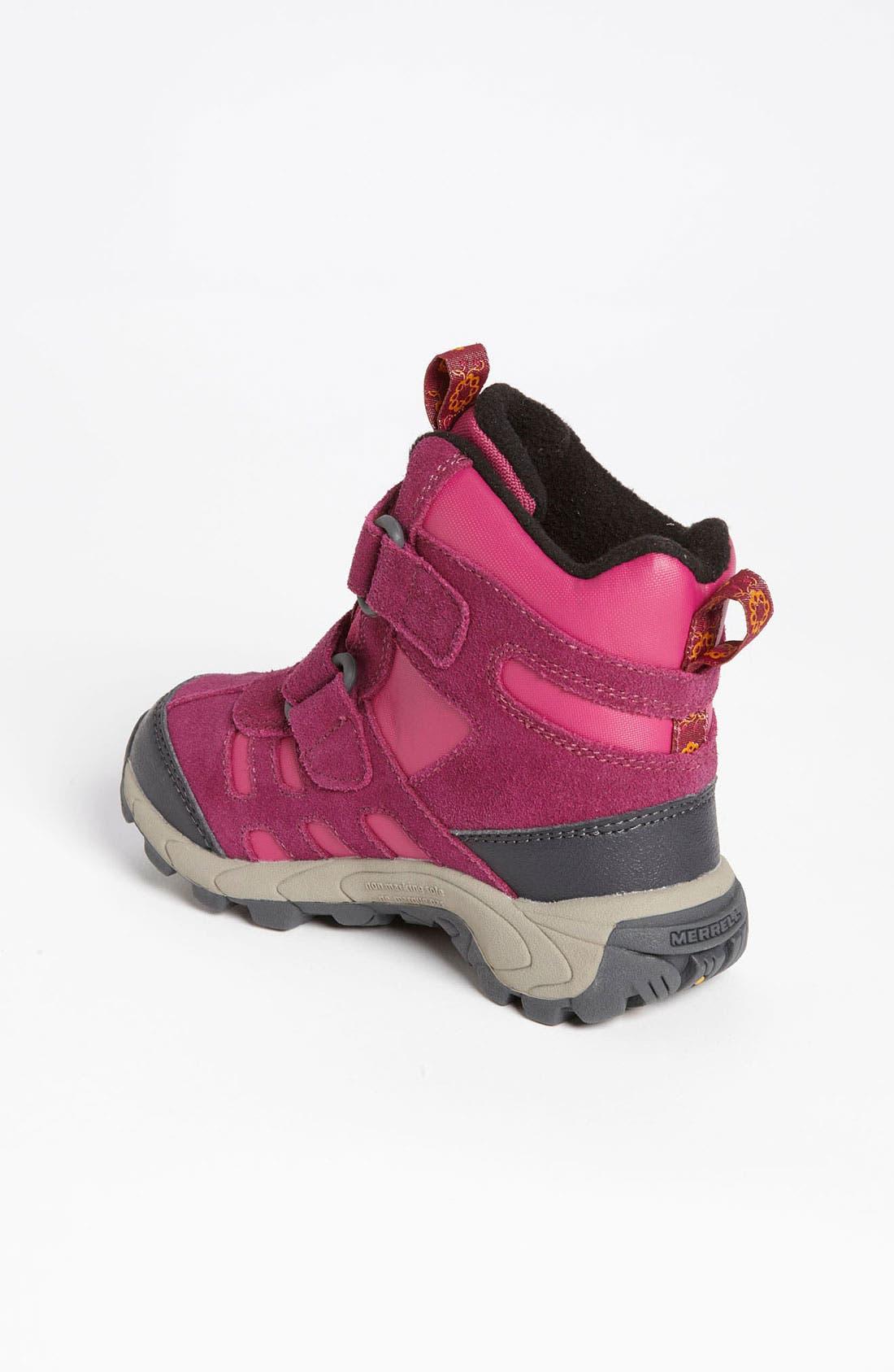 Alternate Image 2  - Merrell 'Moab Polar Short Strap' Waterproof Boot (Toddler, Little Kid & Big Kid)