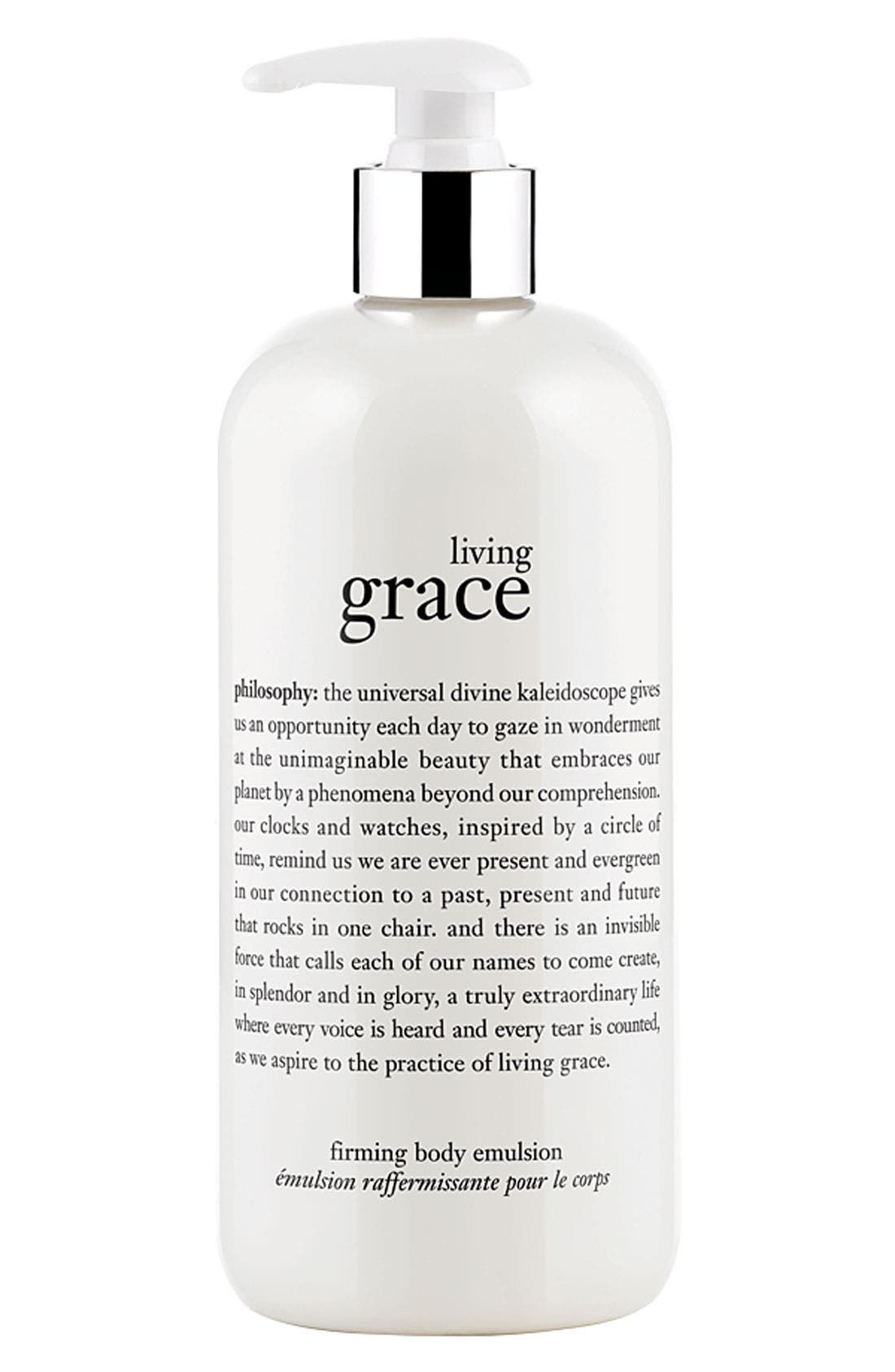 philosophy 'living grace' firming body emulsion