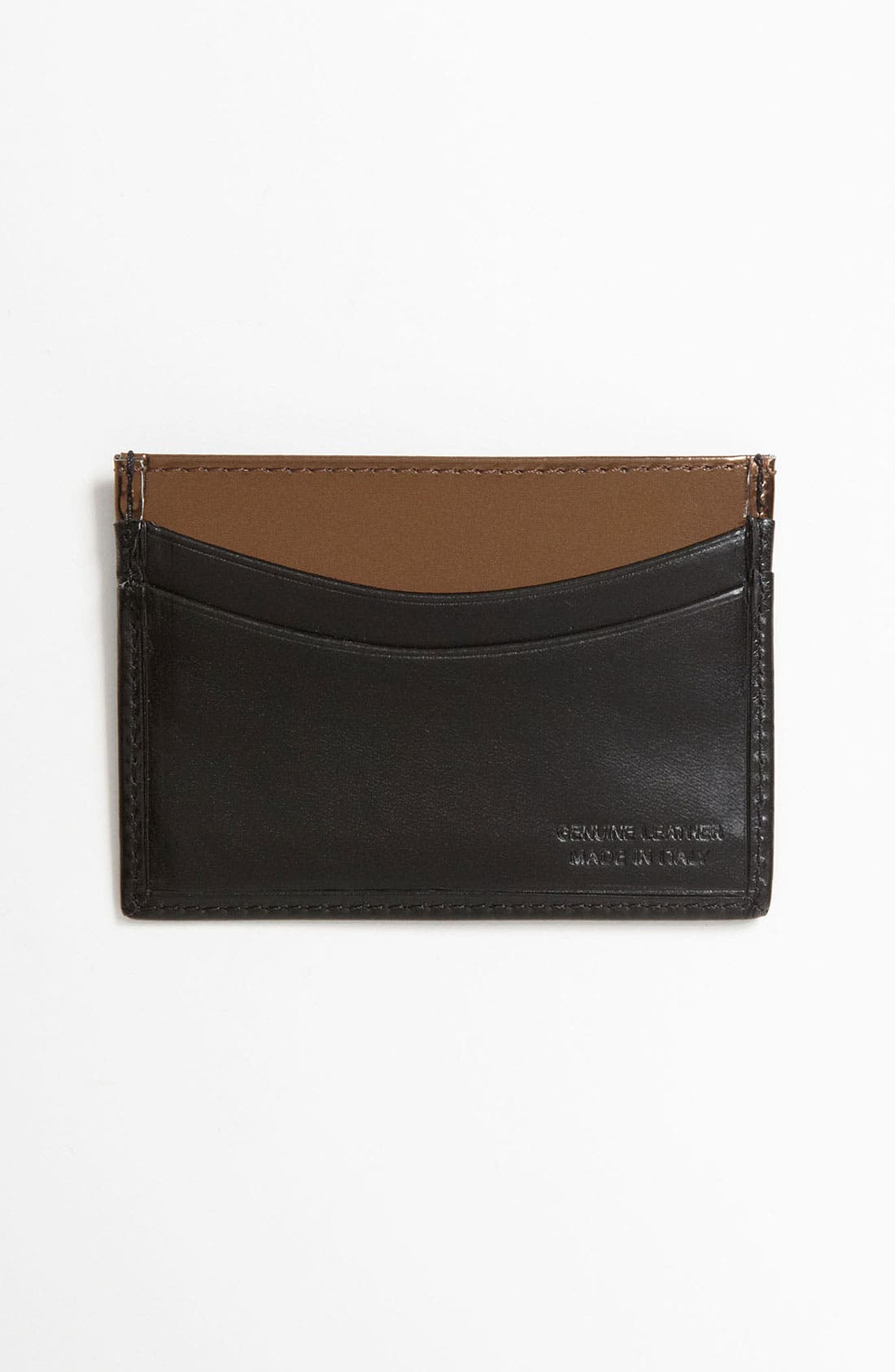 Alternate Image 2  - Paul Smith Accessories Calfskin Leather Credit Card Case
