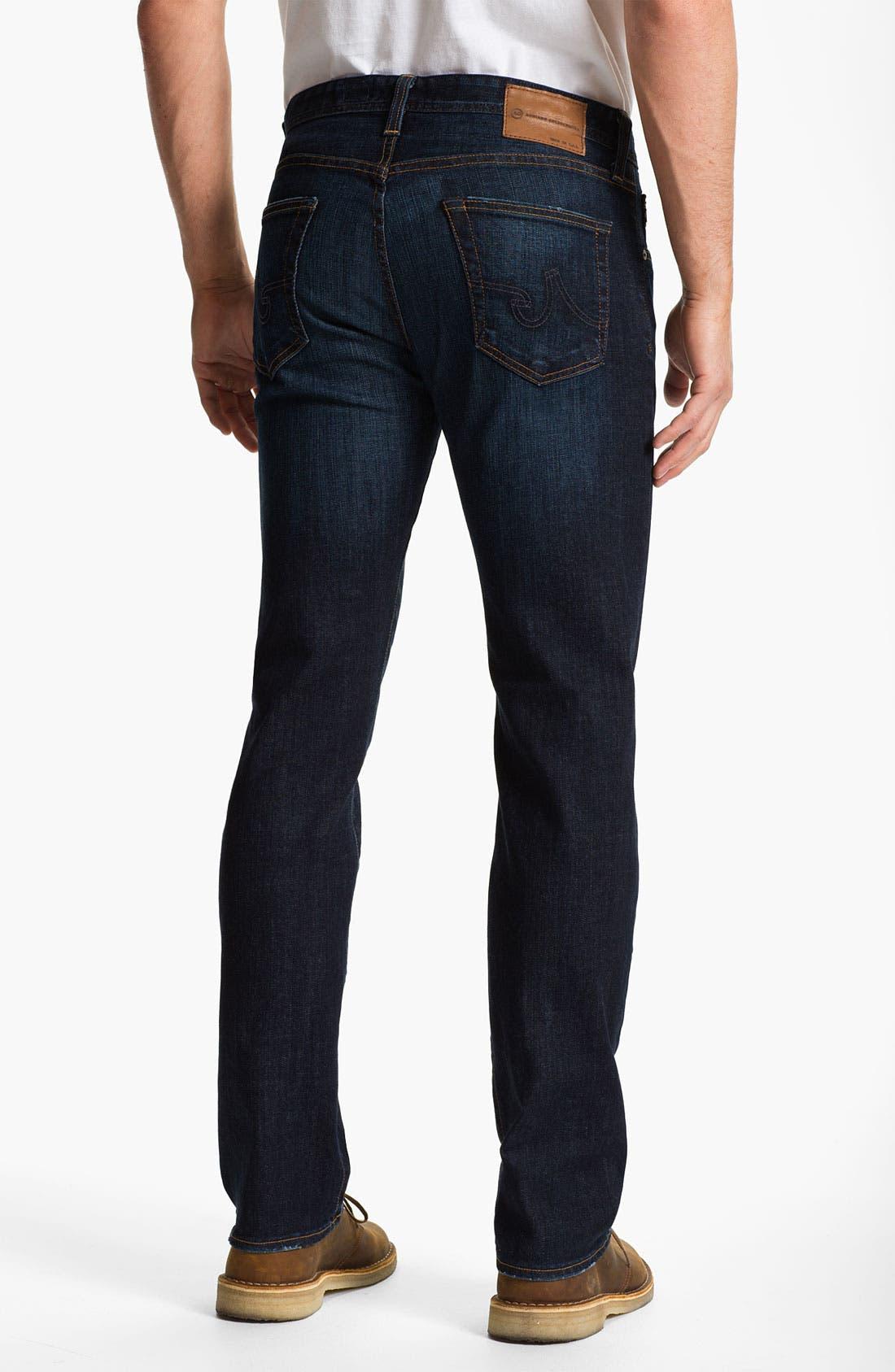 Alternate Image 2  - AG 'Matchbox' Slim Fit Jeans (Robinson)