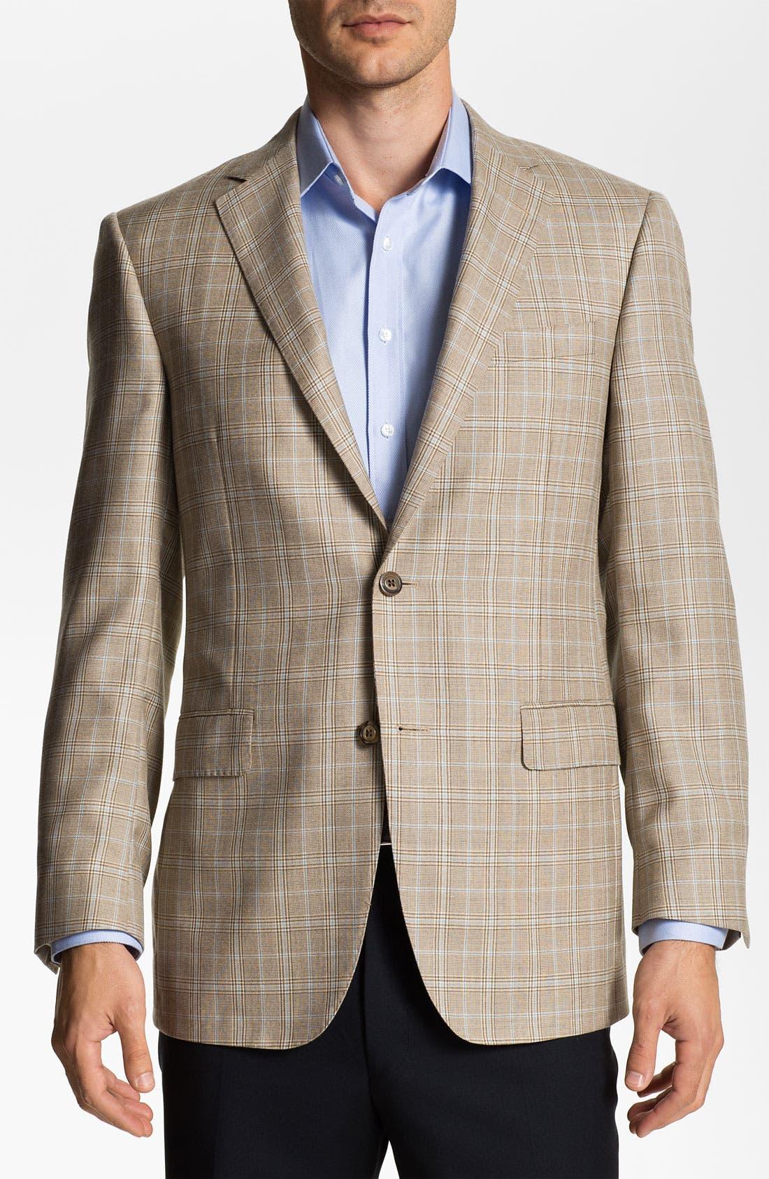 Alternate Image 1 Selected - Samuelsohn Cashmere & Silk Sportcoat