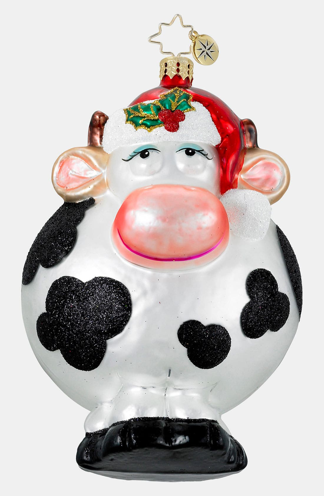 Main Image - Christopher Radko 'Merry Christmas to Moo' Ornament