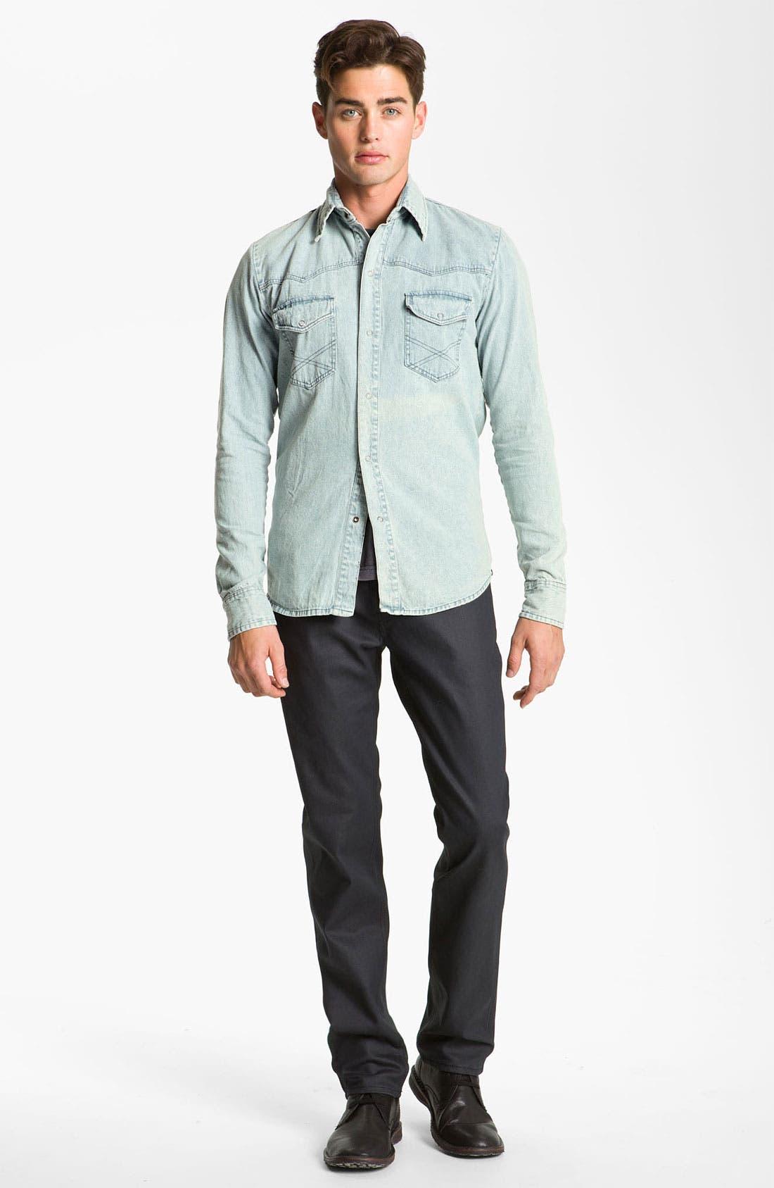 Alternate Image 4  - Vanguard Western Denim Shirt