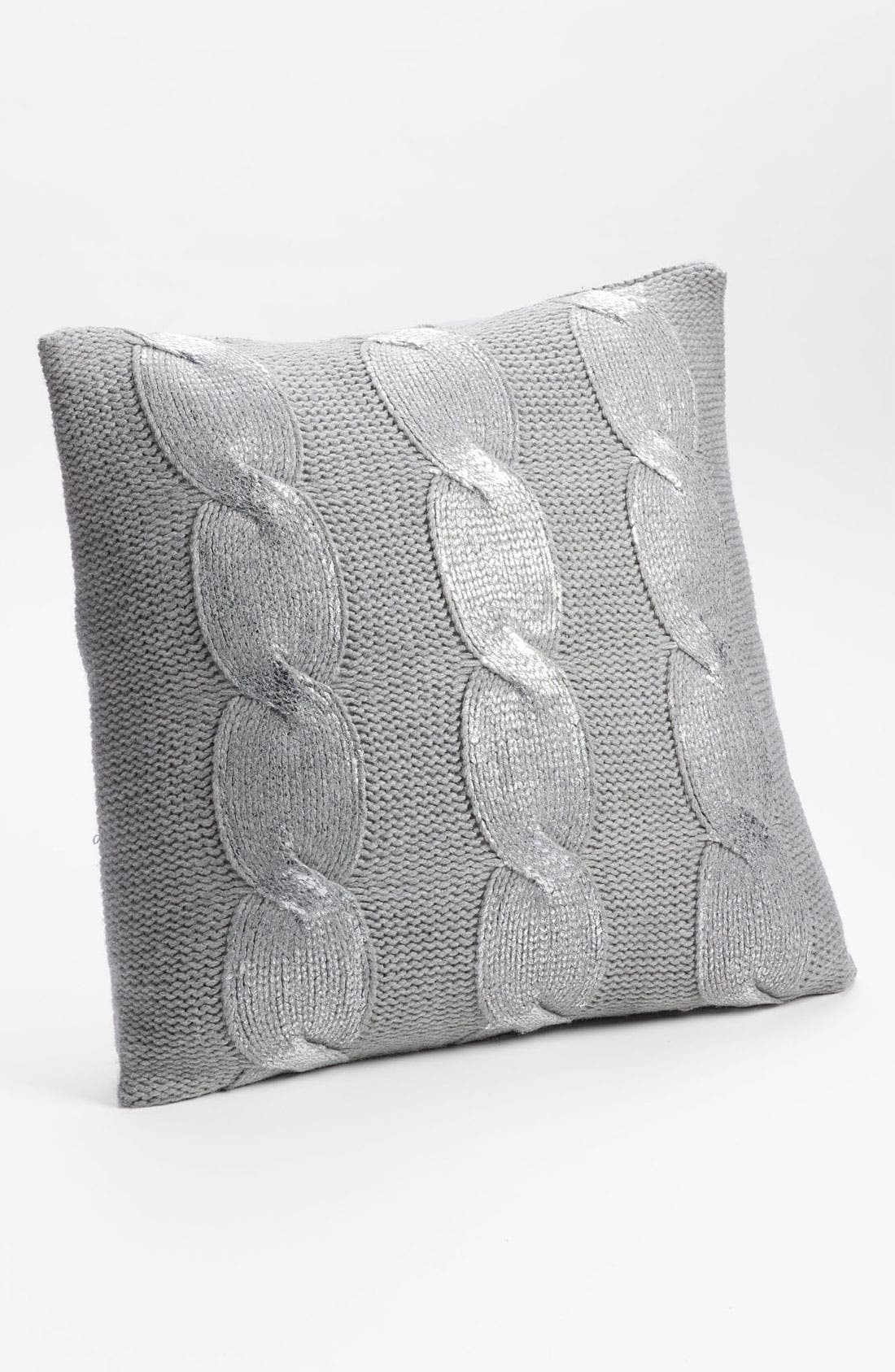 Alternate Image 1 Selected - Nordstrom at Home Aran Cable Pillow Cover