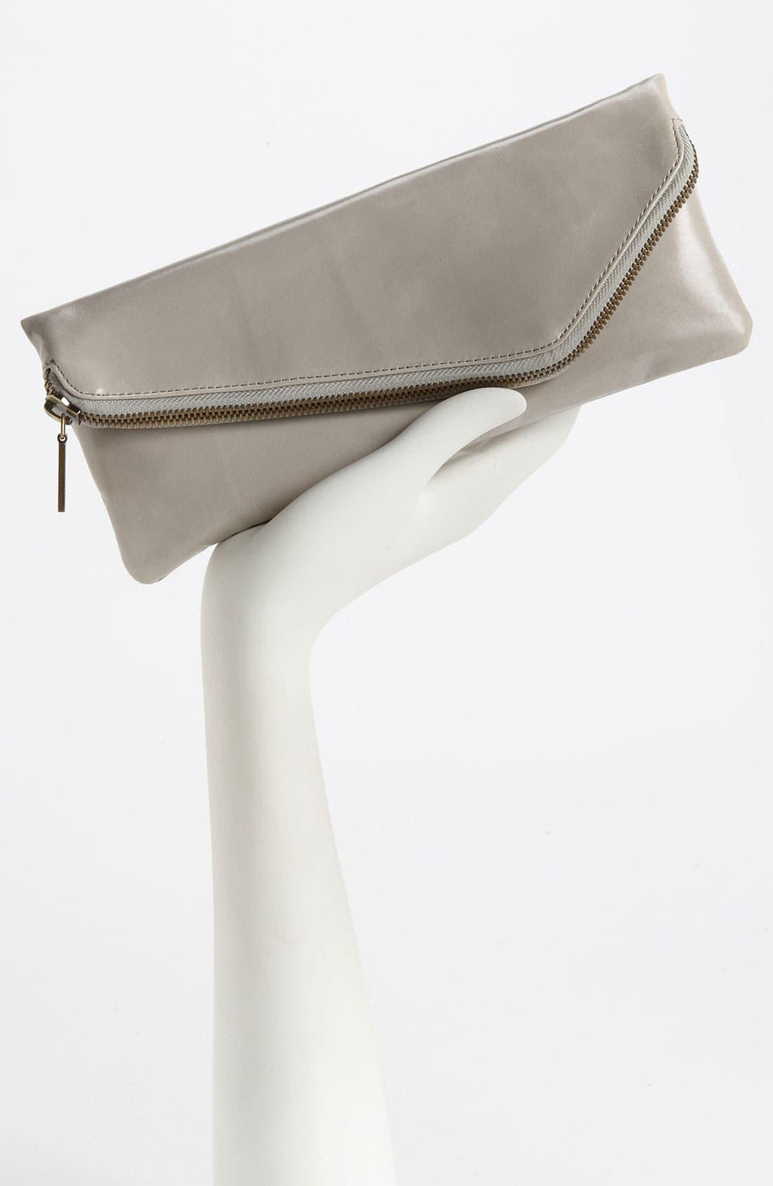Alternate Image 4  - Hobo 'Effe - Small' Glazed Leather Wallet