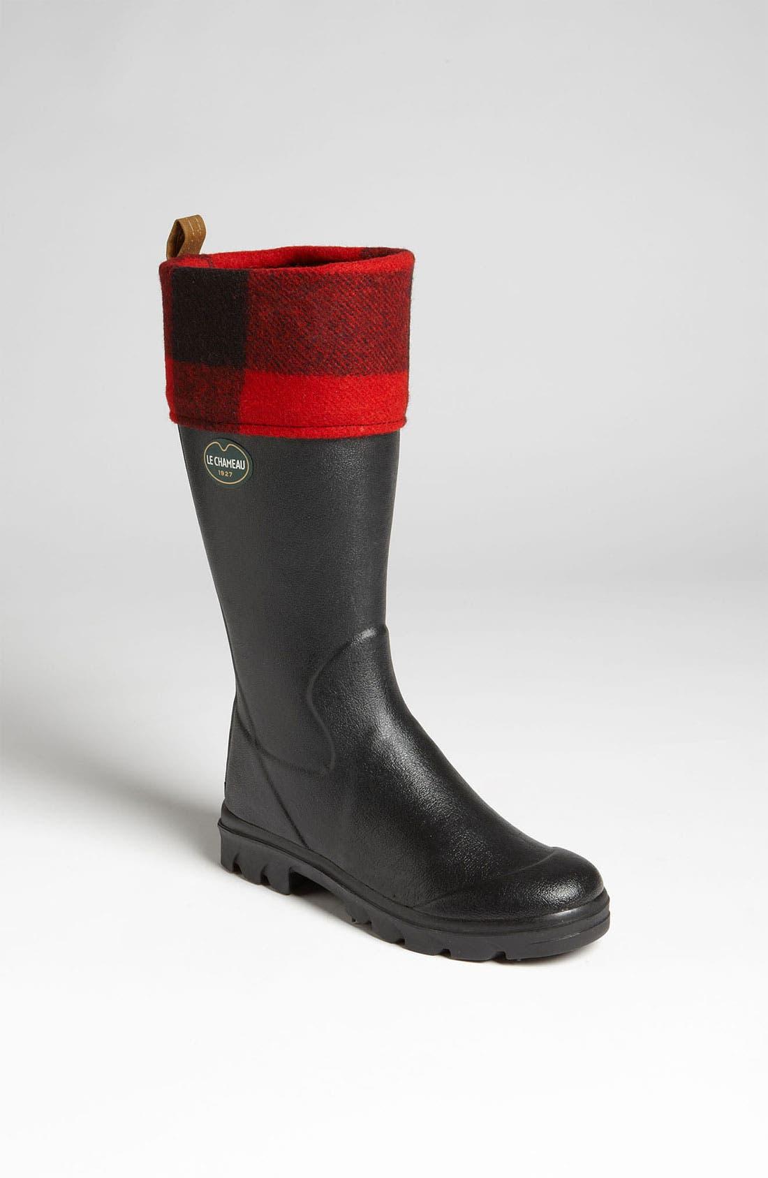 Alternate Image 1 Selected - Le Chameau 'Filson Anjou' Rain Boot (Women)