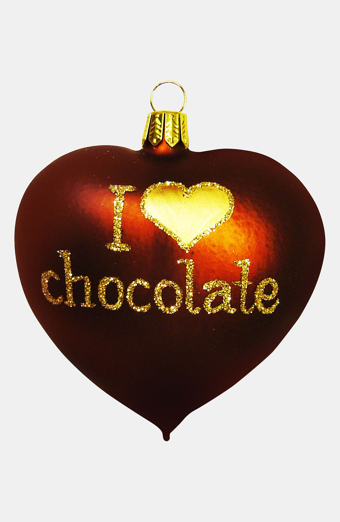 Main Image - Nordstrom at Home 'I Love Chocolate' Ornament