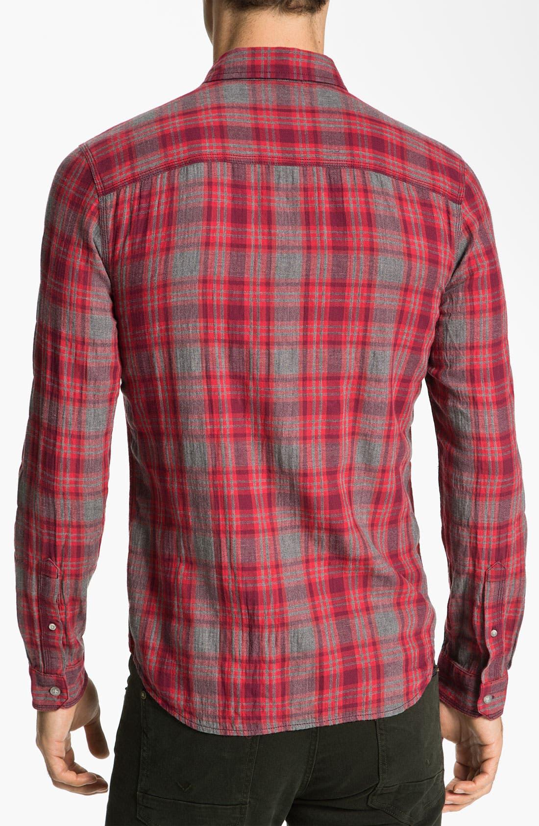 Alternate Image 2  - life/after/denim 'Spadar' Plaid Woven Shirt