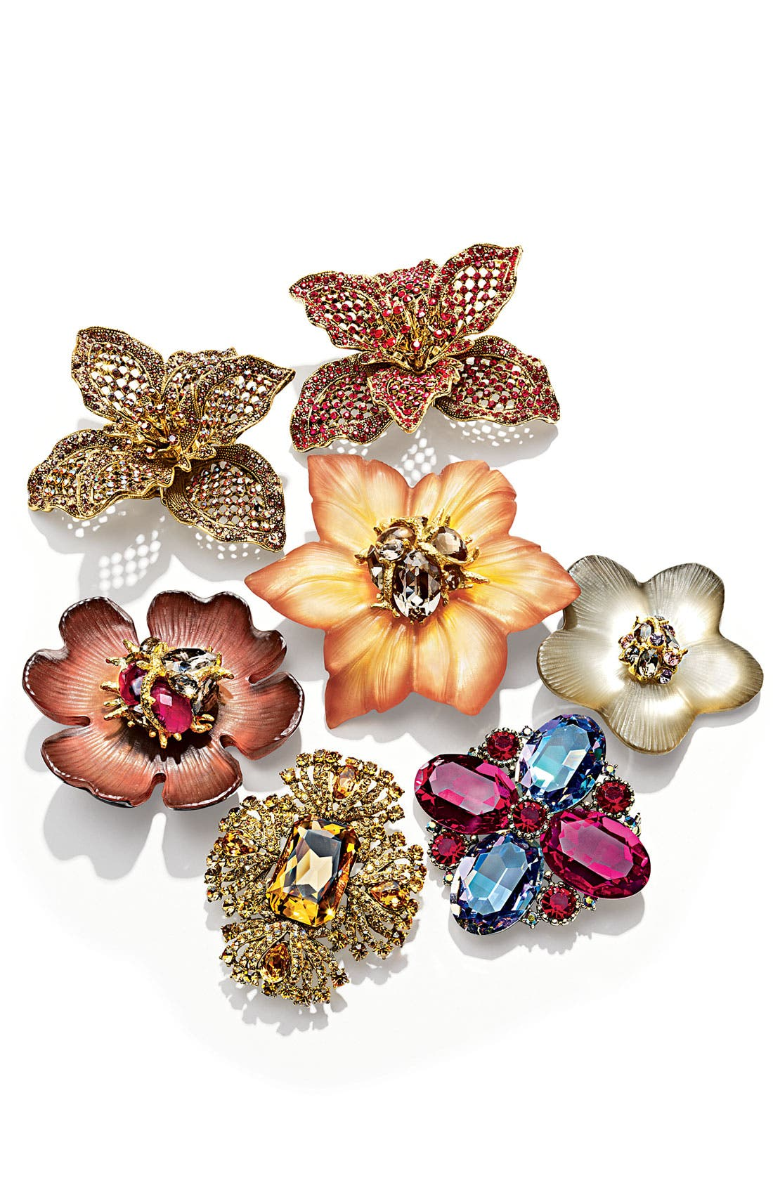 Alternate Image 2  - Alexis Bittar Encrusted Amaryllis Statement Pin (Nordstrom Exclusive)