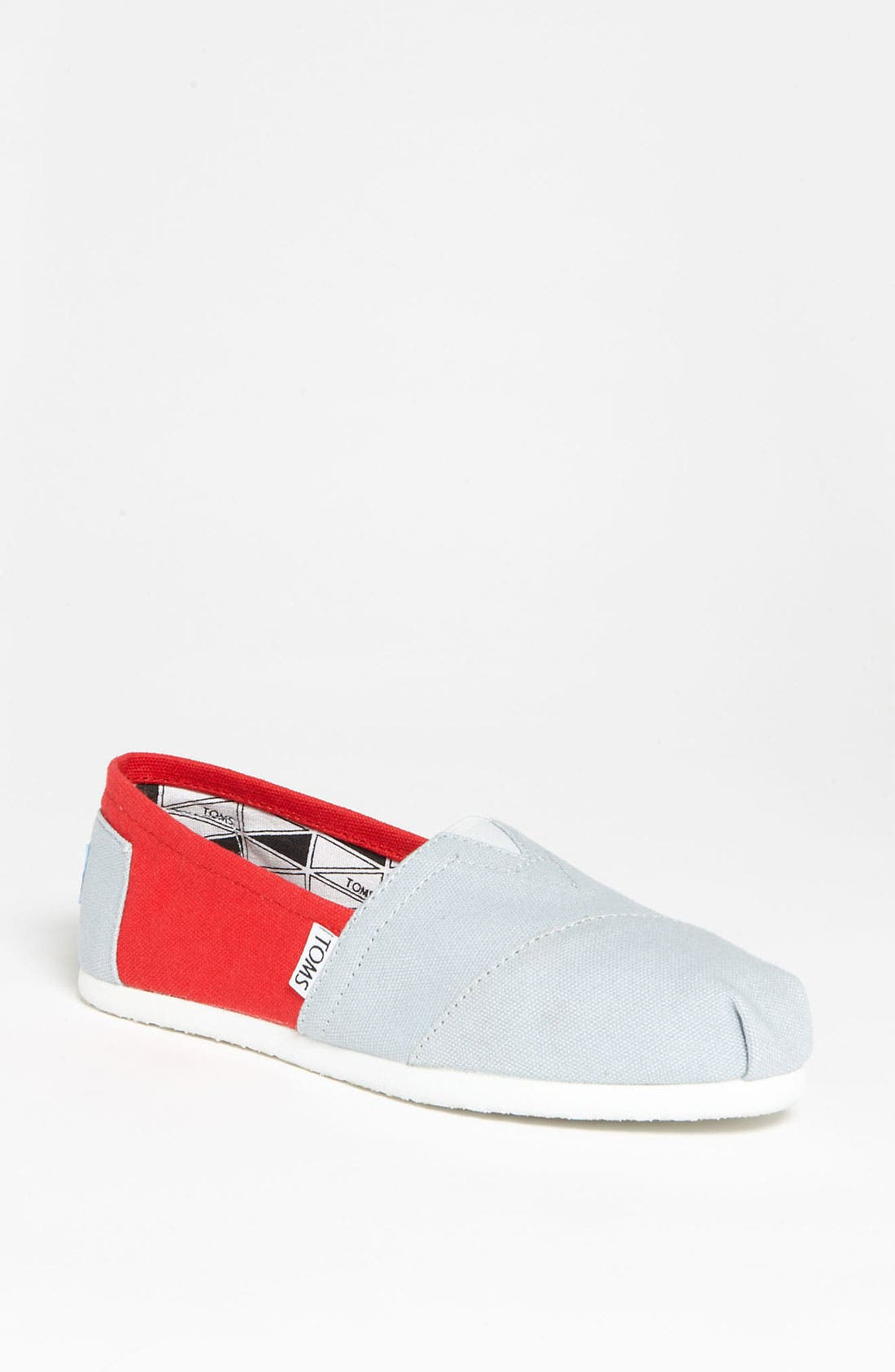 Alternate Image 1 Selected - TOMS 'Campus Classics - Ohio State' Slip-On (Women)