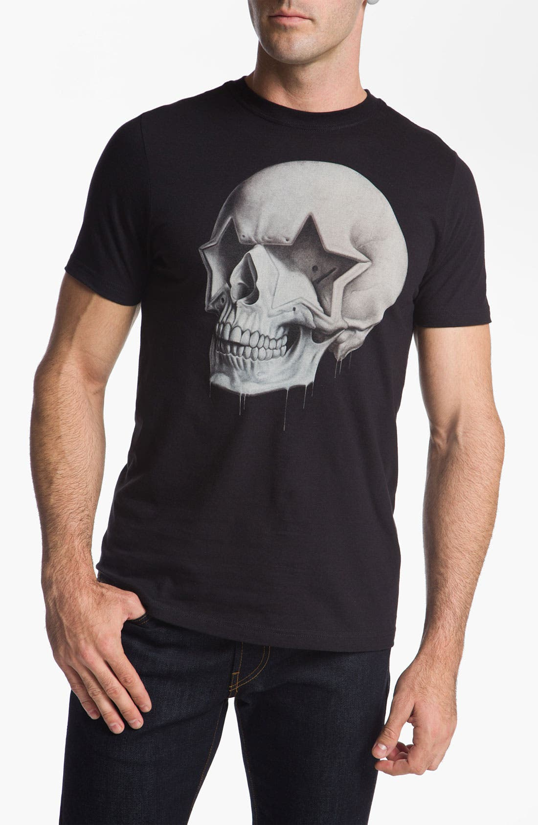Main Image - Hurley 'Star Skull' Graphic T-Shirt
