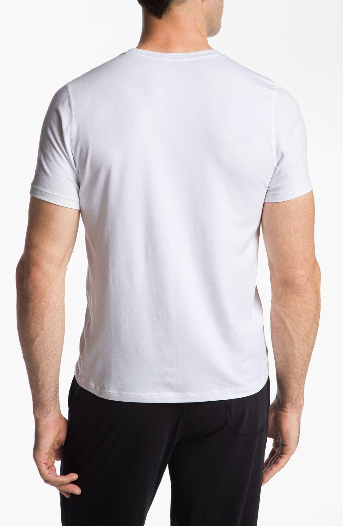 Alternate Image 2  - Daniel Buchler Crewneck T-Shirt