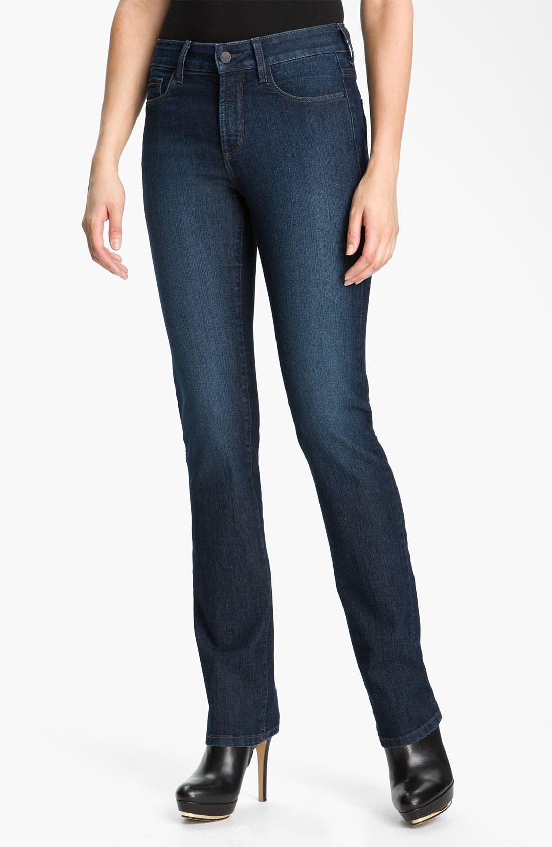 Main Image - NYDJ 'Marilyn' Straight Leg Stretch Jeans