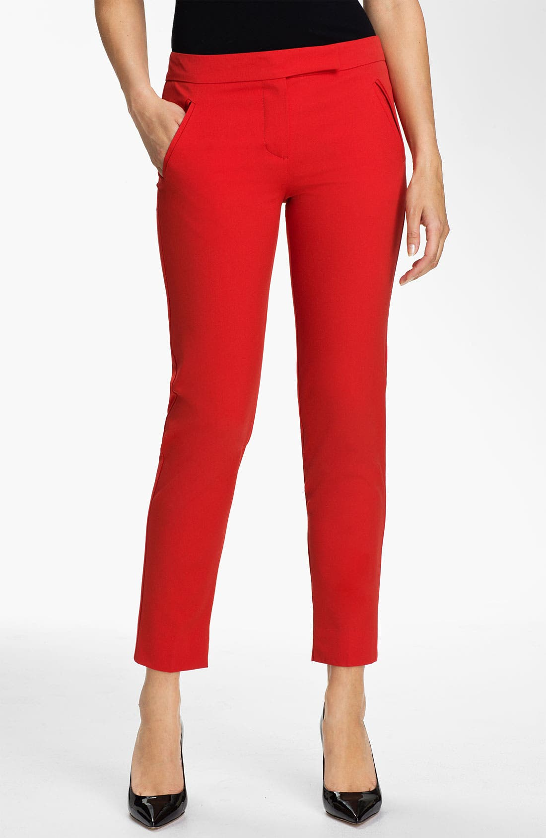 Alternate Image 1 Selected - Trina Turk 'Solitaire' Skinny Pants
