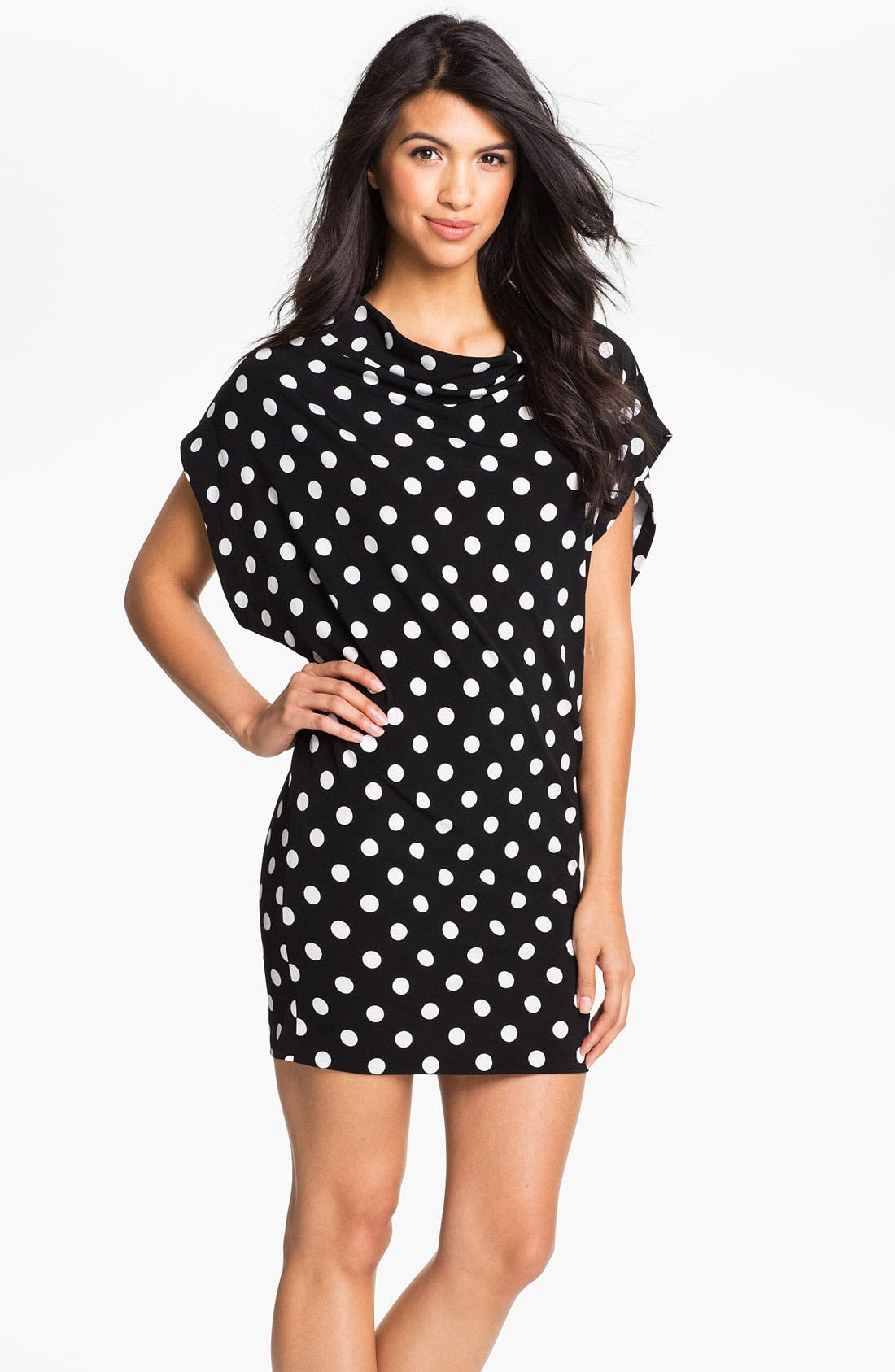 Main Image - KAMALIKULTURE Polka Dot Dress