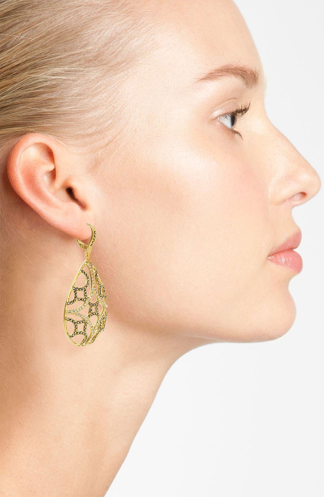 Alternate Image 2  - Judith Jack 'Matrix' Teardrop Earrings