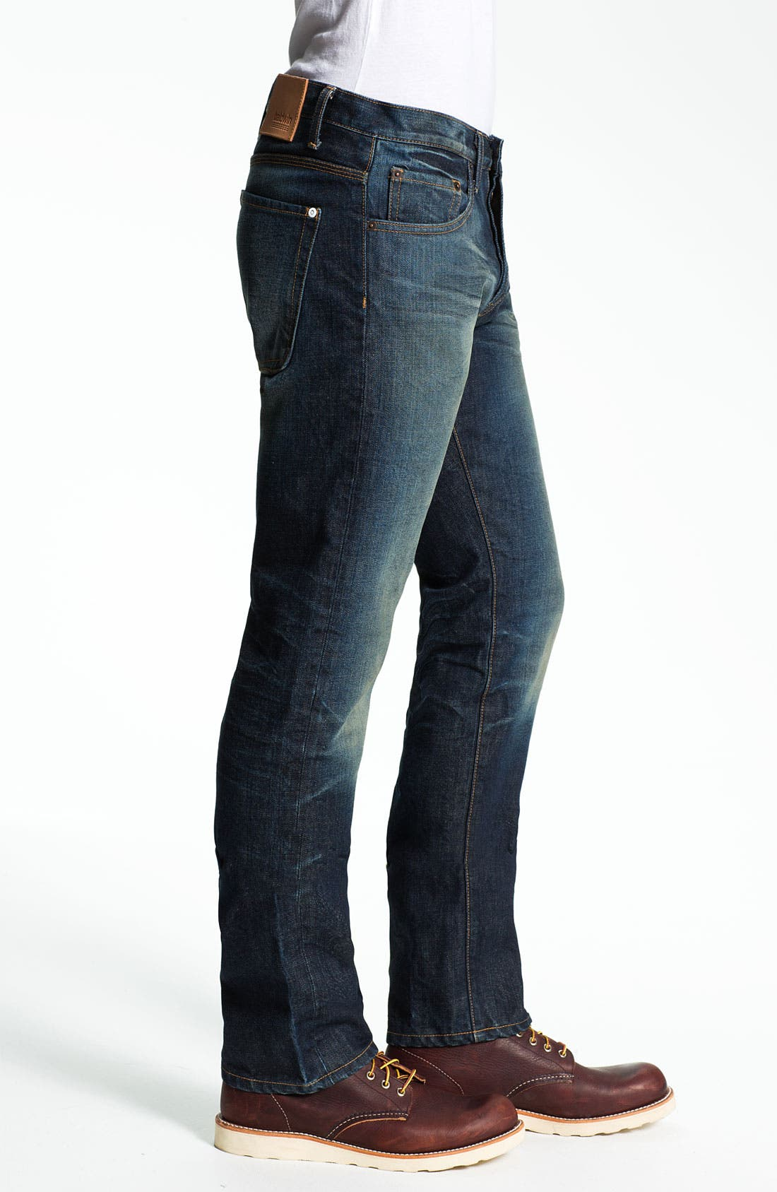 Alternate Image 3  - Baldwin 'Reed' Straight Leg Jeans (John)