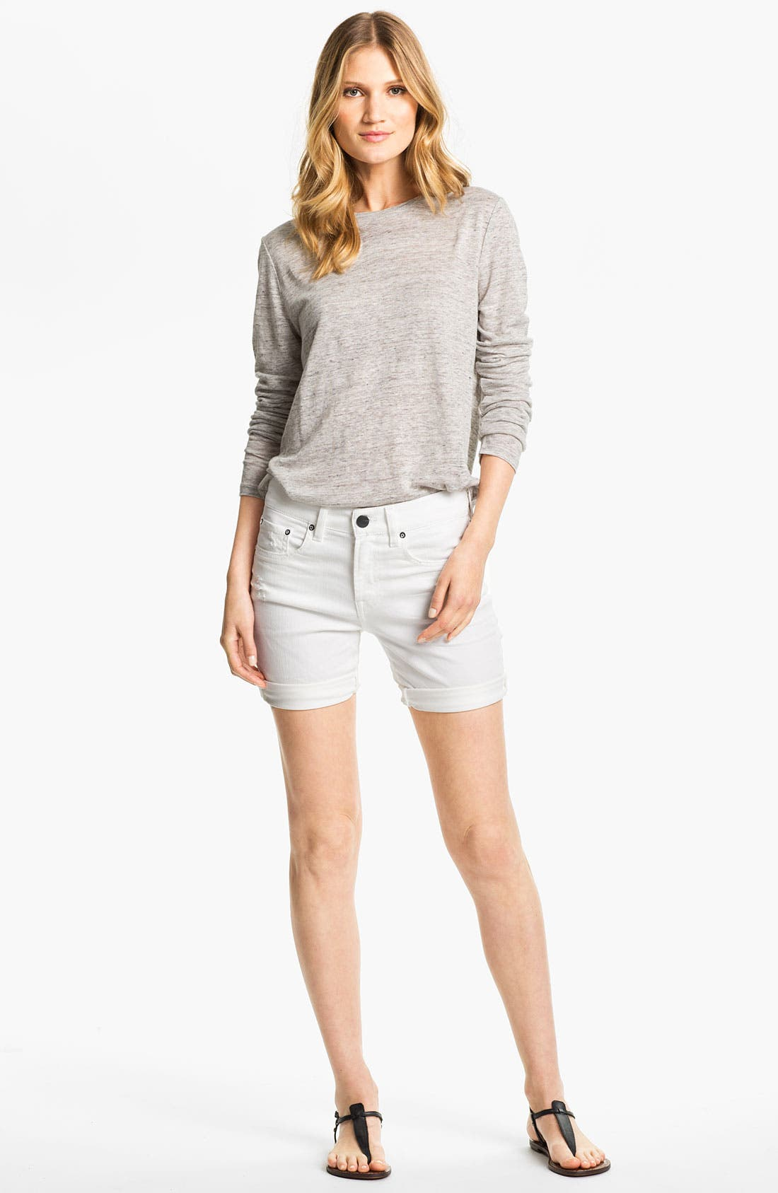 Main Image - Vince Shirttail Top
