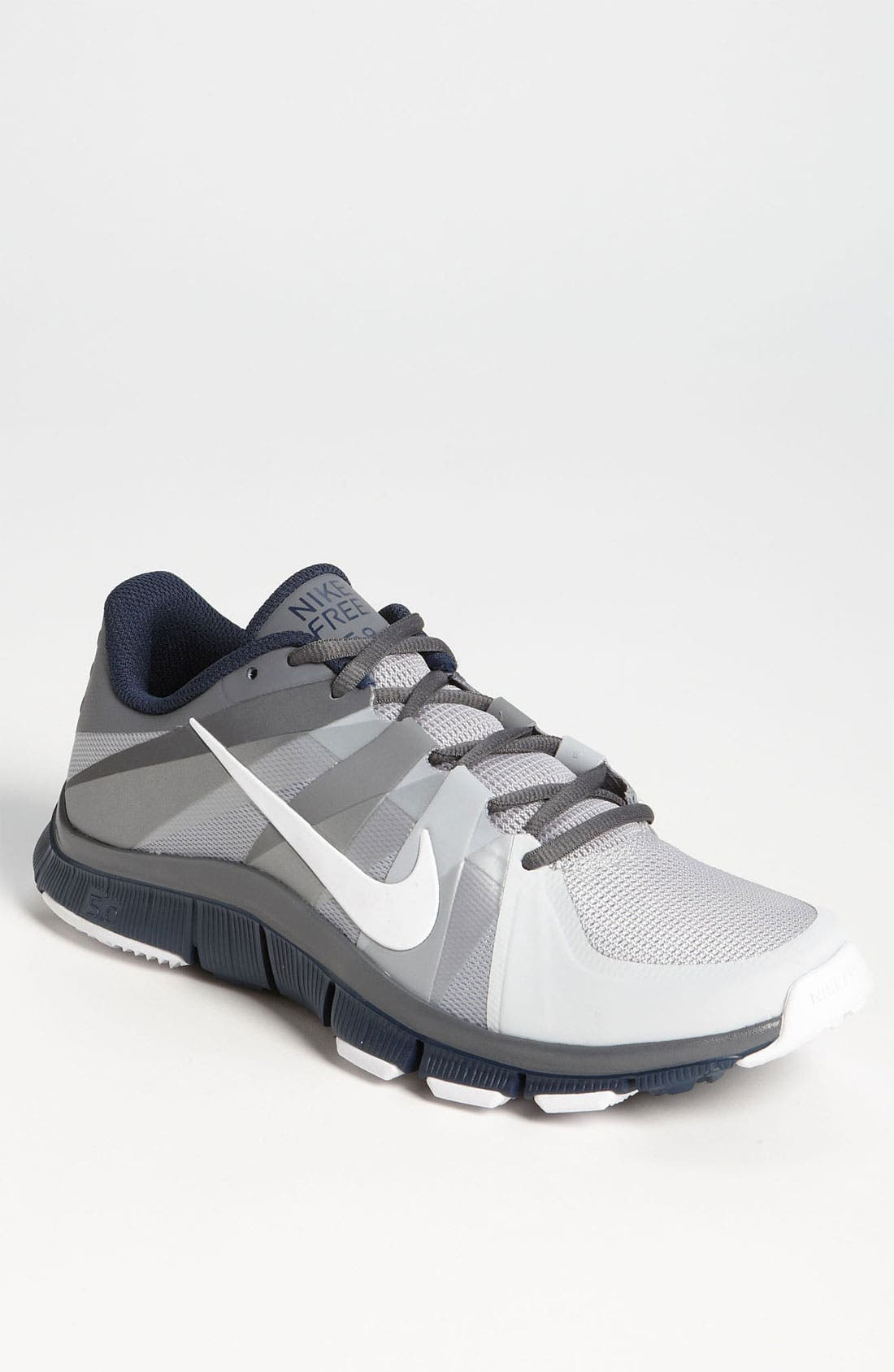 Nike Free Trainer 5.0 Marine Tb / Couettes / Couettes Blanches