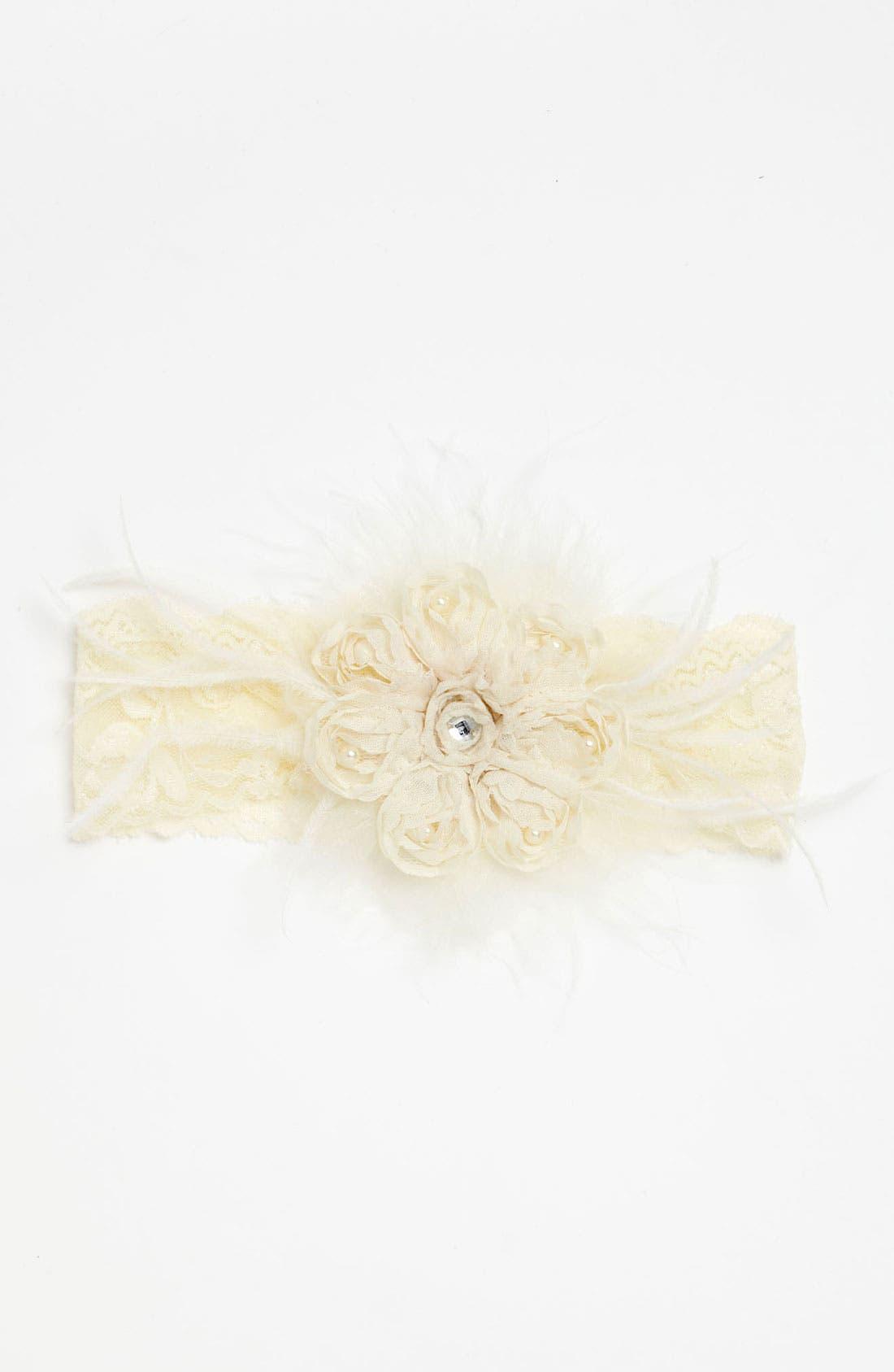 Headband,                         Main,                         color, Ivory