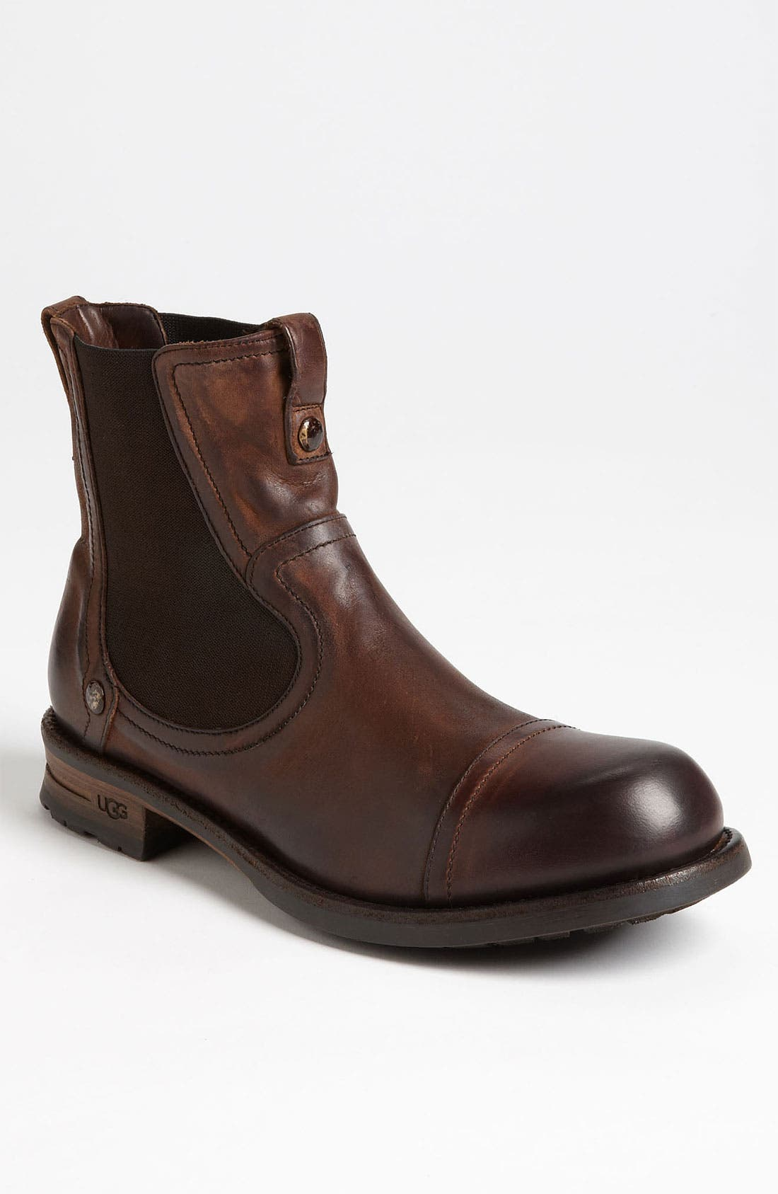 Alternate Image 1 Selected - UGG® Collection 'Amone' Chelsea Boot (Men)