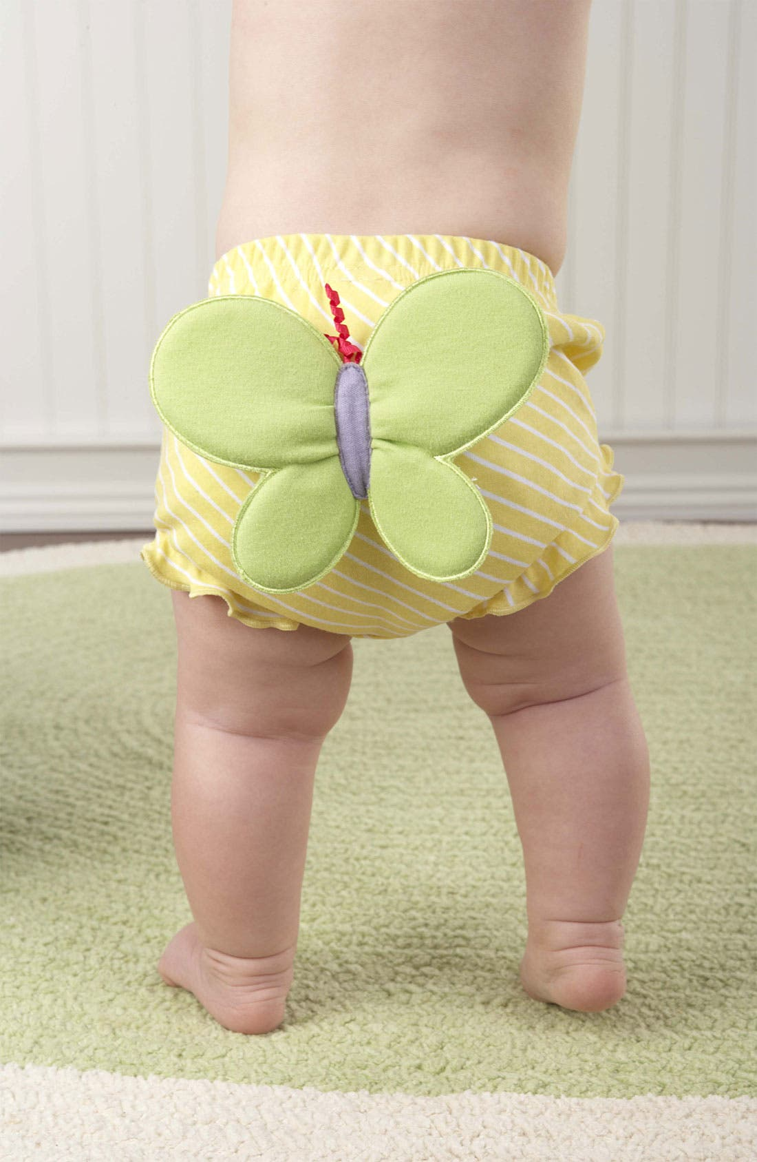 Alternate Image 2  - Baby Aspen Butterfly Bloomers (Set of 3) (Baby)