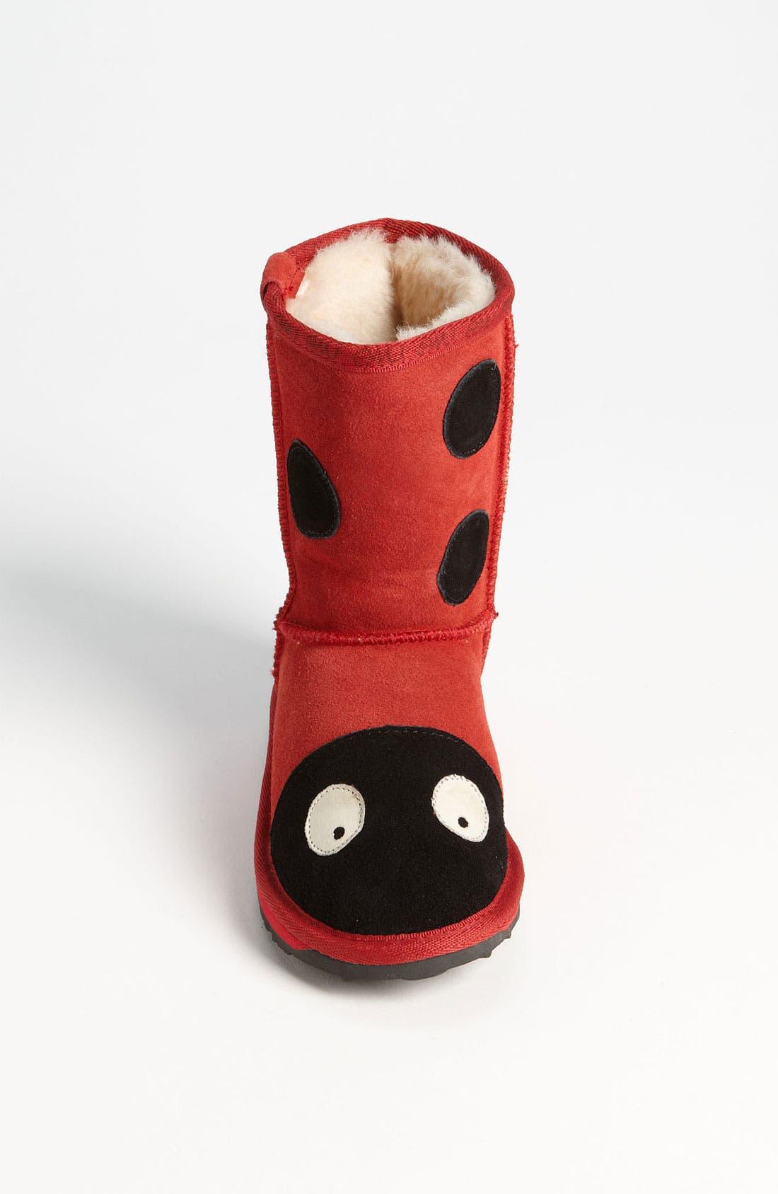 Alternate Image 3  - EMU Australia 'Little Creatures - Ladybug' Boot (Toddler, Little Kid & Big Kid)