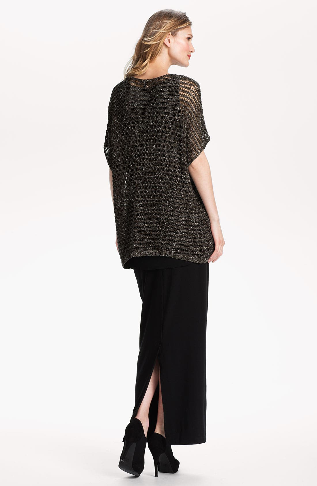 Alternate Image 5  - Eileen Fisher Sparkle Mesh Tunic