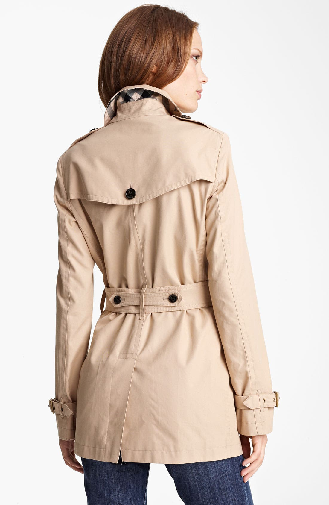 Alternate Image 2  - Burberry Brit 'Crombridge' Double Breasted Trench