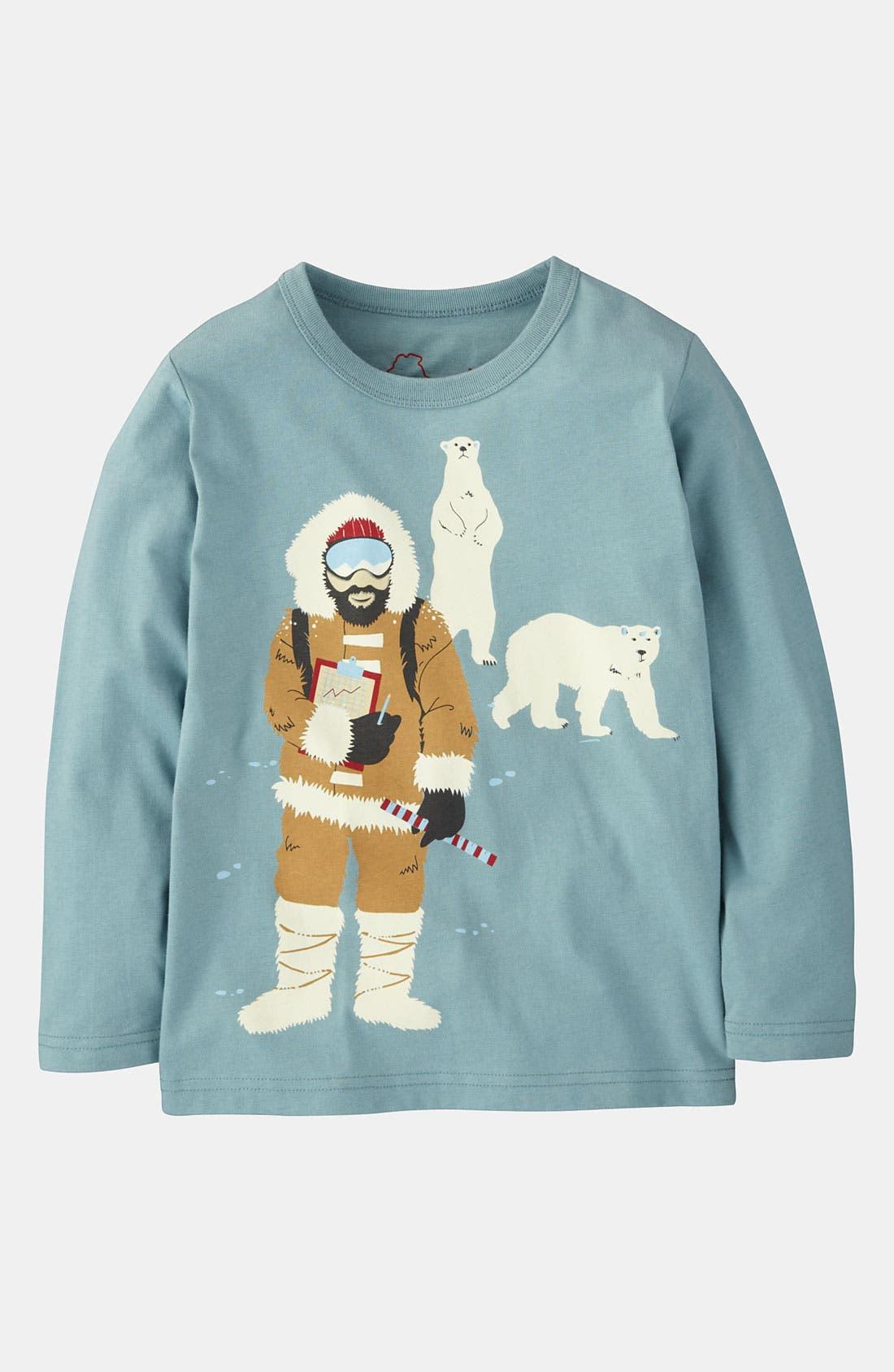 Alternate Image 1 Selected - Mini Boden 'Exploration' T-Shirt (Little Boys & Big Boys)