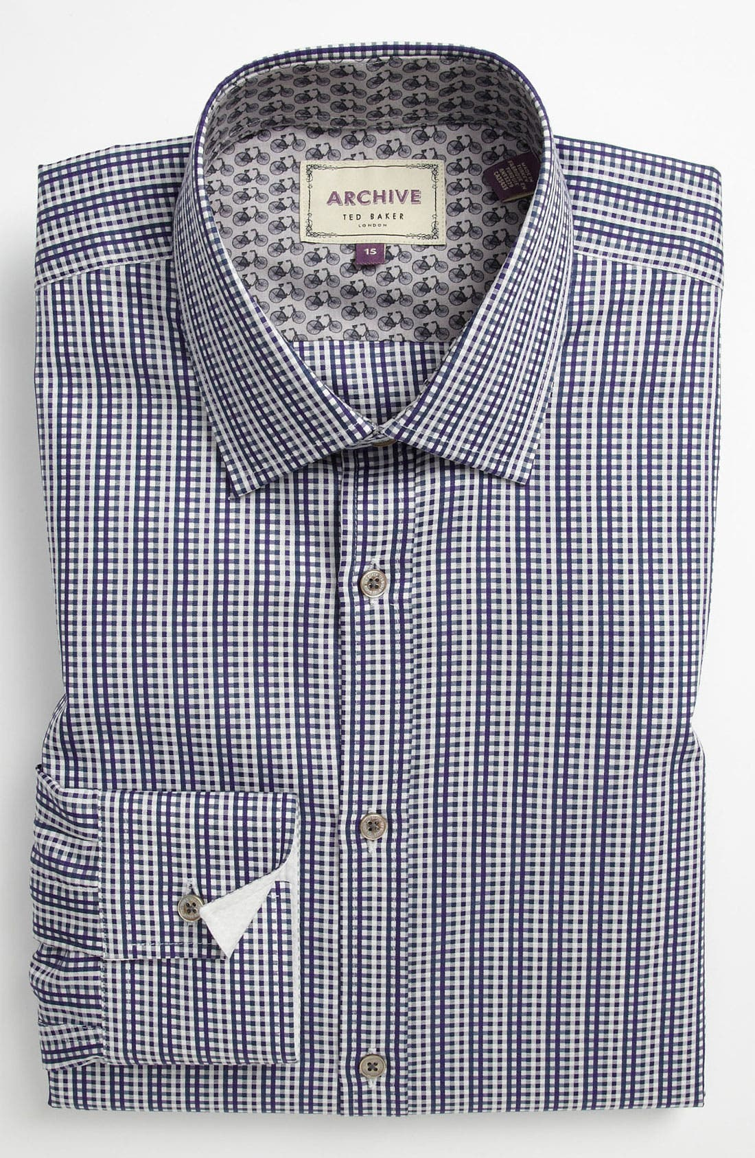 Alternate Image 1 Selected - Ted Baker London Trim Fit Dress Shirt