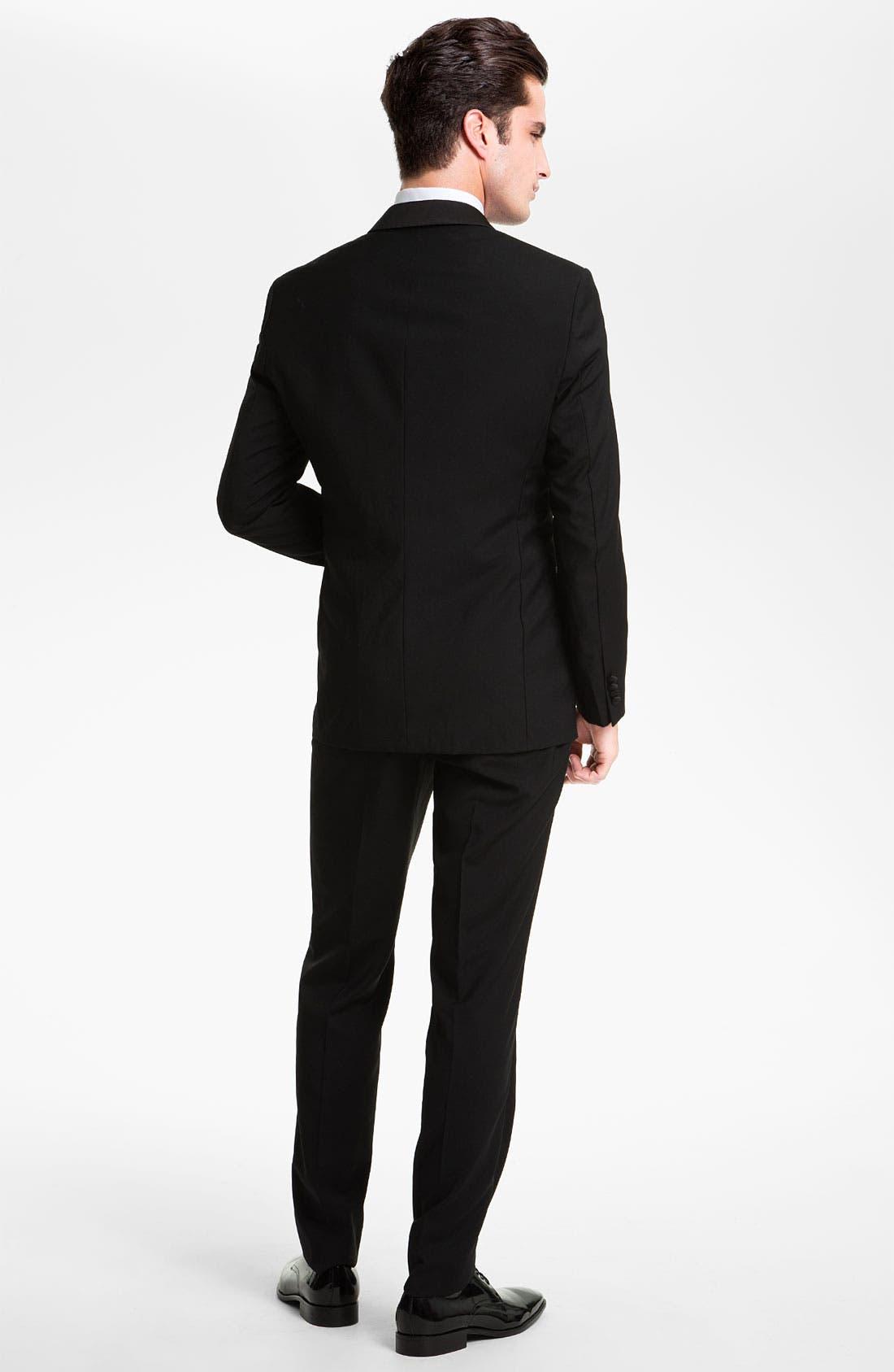 Alternate Image 2  - BOSS 'Sky Gala' Shawl Lapel Tuxedo (Free Next Day Shipping)