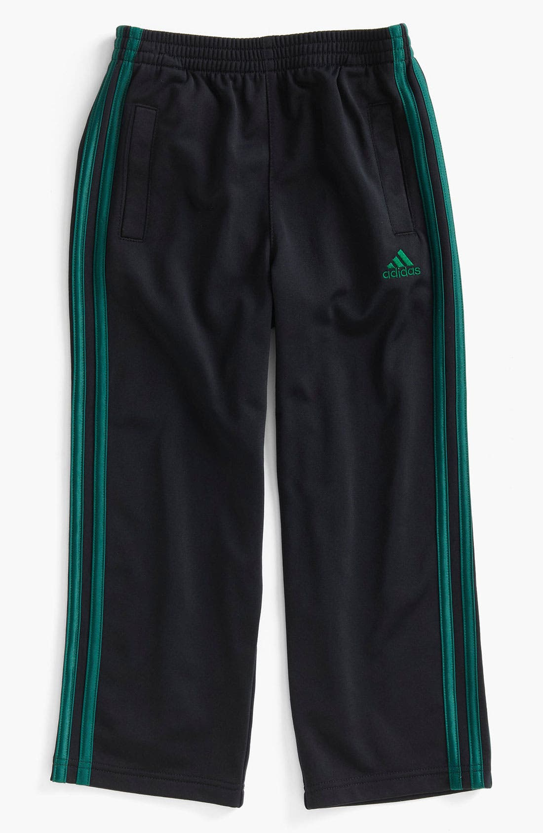 Alternate Image 1 Selected - adidas Tricot Pants (Little Boys)