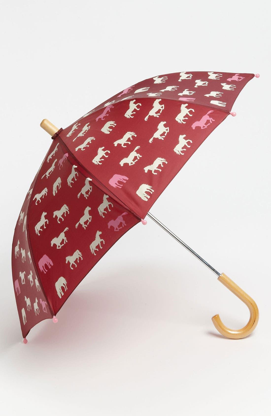 Main Image - Hatley 'Pretty Horses' Umbrella